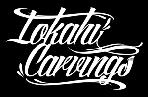 LOKAHI CARVINGS LOGO DESIGN