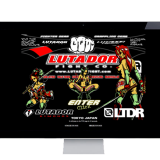 LUTADOR FIGHT HP DESIGN